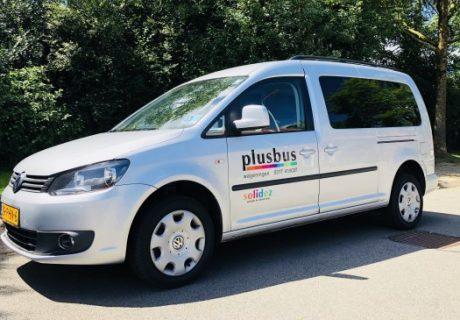 Nieuwe rolstoelauto voor Solidez Plusbus