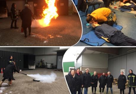 BHV training voor t Hospice Wageningen-Renkum